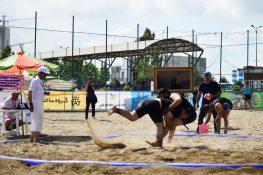 مسابقات کشتی ساحلی قهرمانی کشور در منطقه آزاد انزلی آغازشد