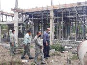 روند پیشرفت فیزیکی ساختمان جدید سر محیط بانی جوکندان مطلوب است