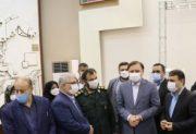 بازدید از مراکز تزریق واکسن در رشت