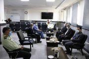 مدیر عامل برق منطقه ای گیلان از فرمانده نیروی انتظامی تقدیر کرد
